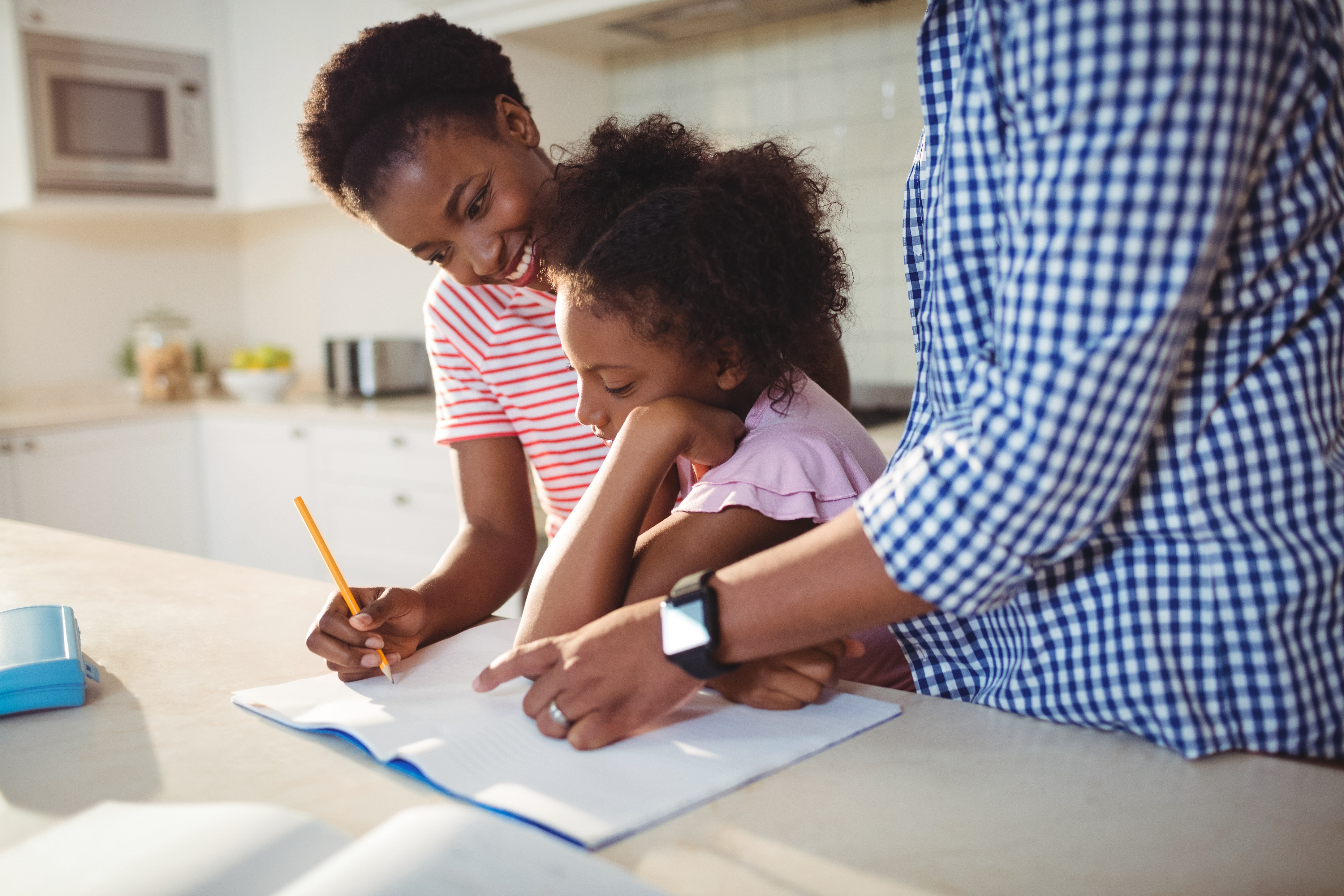 working children autism schoolwork